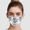 Take Me Home To Lallybroch Cloth Face Mask Reusable