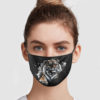 Tiger Cloth Face Mask Reusable