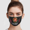 USMC Veteran Cloth Face Mask Reusable