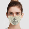We Loved With A Love That Was More Than Love Cloth Face Mask Reusable