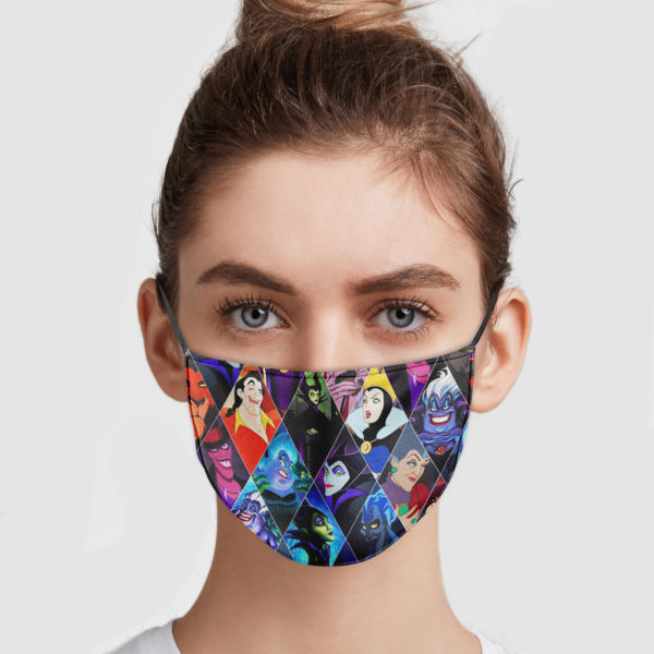 Witch Halloween Cloth Face Mask Reusable