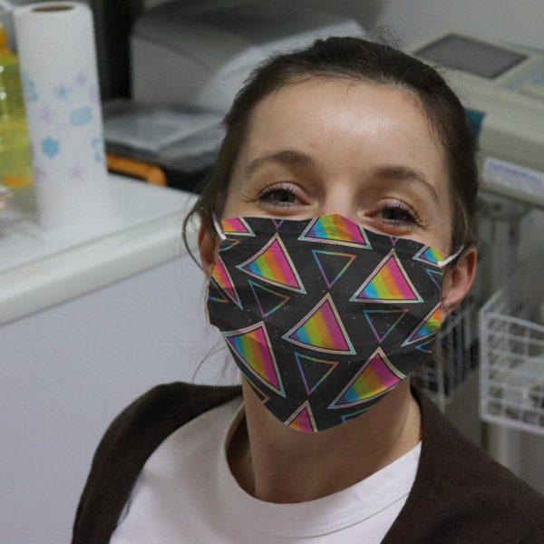 Tropical Summer Beach Surfing Reusable Face Mask