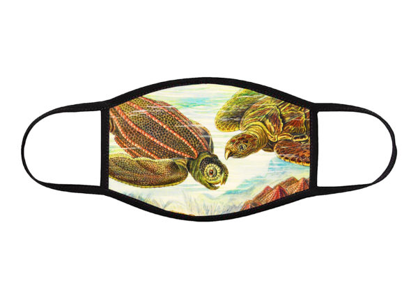 Uploaded ToSea Turtles Face Mask