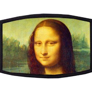 Mona Lisa da Vinci Face Mask