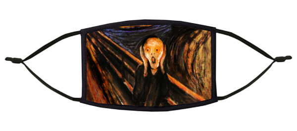 The Scream Munch Face Mask