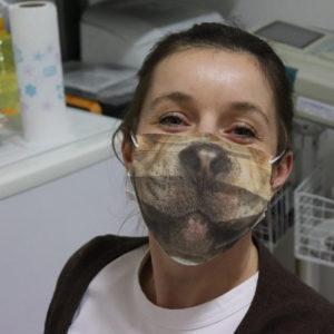 For Funny Dog Lover Pit Bull Pitbull Snout Reusable Face Mask