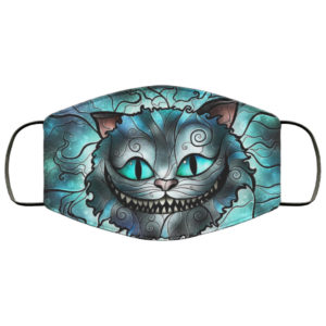 Cheshire Cat Alice Face Mask Reusable
