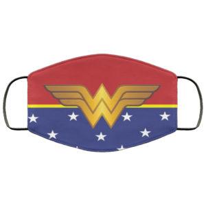 Wonder Woman Face Mask Reusable
