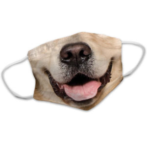 Golden Retriever Snout For Dog Lovers Face Mask
