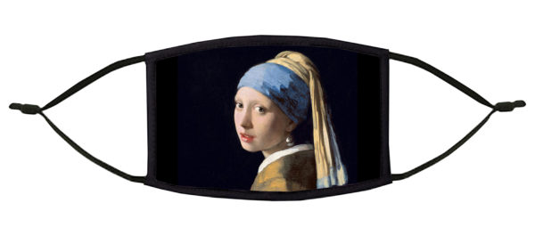 Girl with the Pearl Earring Vermeer Face Mask