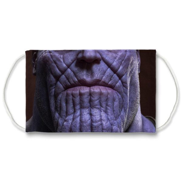 Thanos from Avengers Endgame Marvel Face Mask