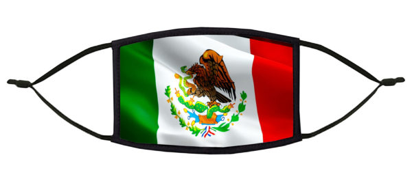 Mexican Flag Face Mask