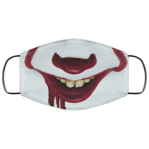 Pennywise IT Face Mask Reusable