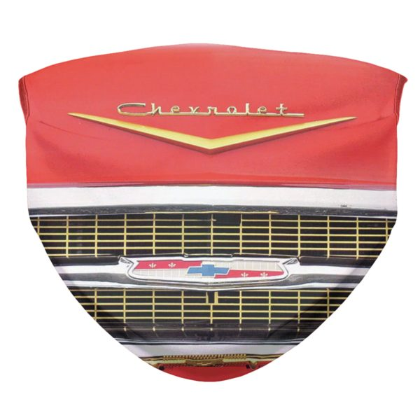1957 Chevy Bel Air Face Mask