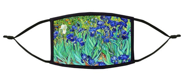 Irises Van Gogh Face Mask