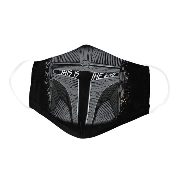 This Is The Way Medieval Knight Helmet Face Mask