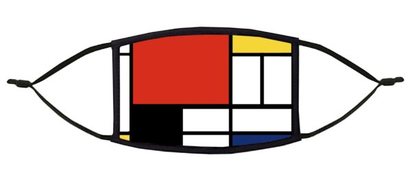 Piet Mondrian Face Mask