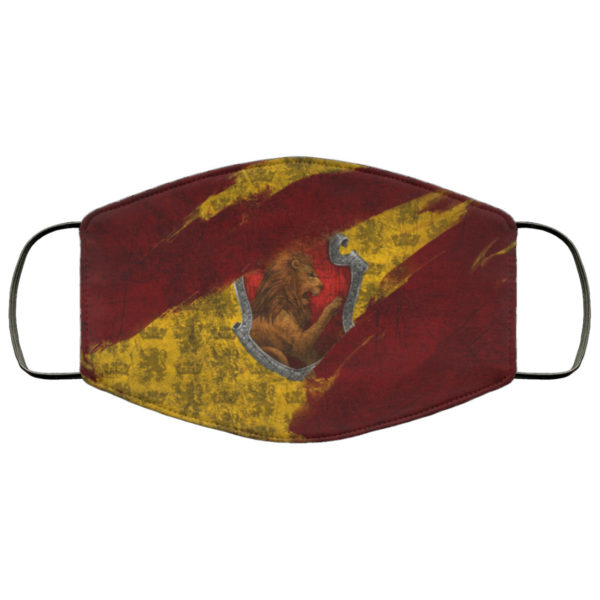 Gryffindor Hogwarts Face Mask Reusable