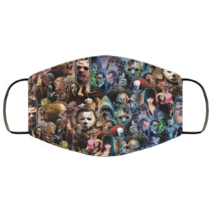 Horror Movie Gods Face Mask Reusable