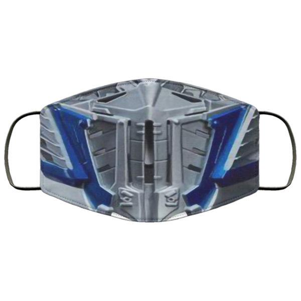 Optimus Prime Face Mask Reusable