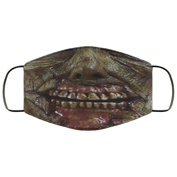 Zombie Mouth Face Mask Reusable
