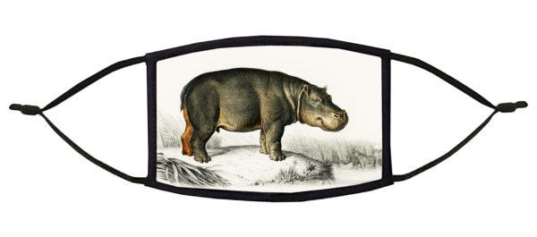 Hippopotamus Face Mask