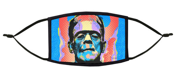 Frankenstein Pop Art Face Mask
