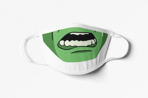 Green Monster Face Mask