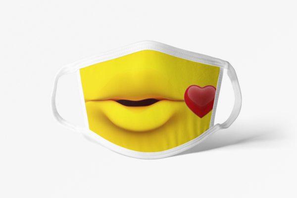 Kissy Face Mask