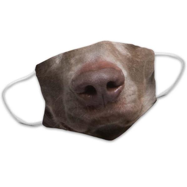 Favorite Weimaraner Dog Face Face Mask