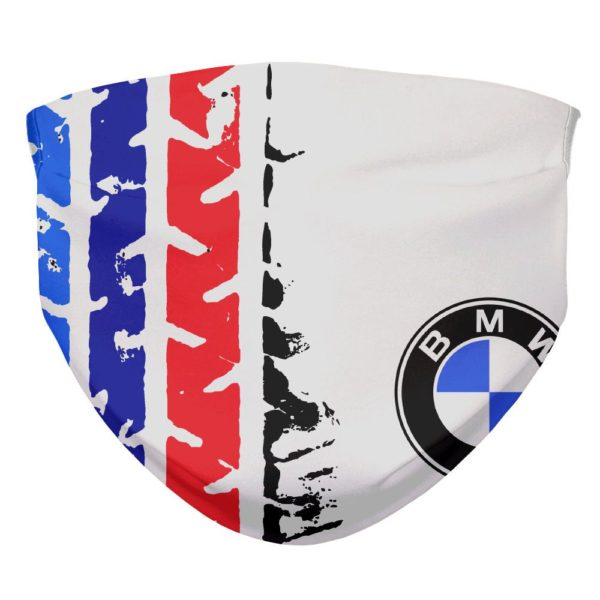 BMW M3 Tread Marks Sports Car Face Mask