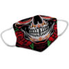 Sugar Skull Mexican Skeleton Day Of The Dead Face Mask