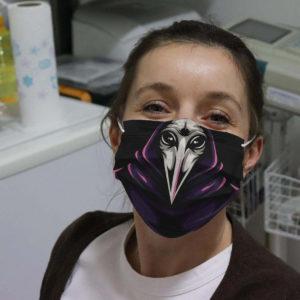 Plague Doctor Medieval Time Crow Beak Face Mask