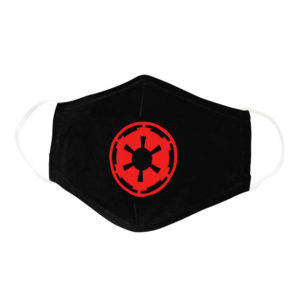 Empire Logo Imperial Crest Gamer Nerd Geek Face Mask