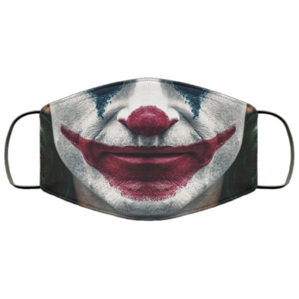 Joker Joaquin Phoenix Face Mask Reusable