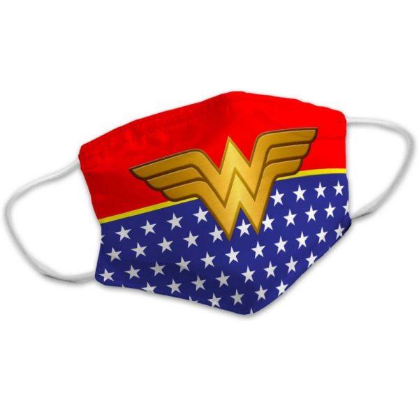 Superhero Super Women Power American Comic Face Mask