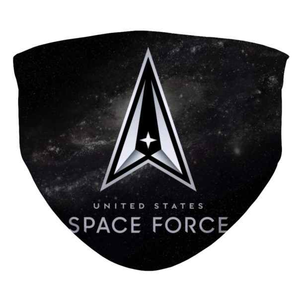United States Space Force New Logo 2020 Face Mask