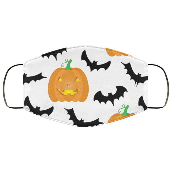 Pumpkin Haunted House Halloween Face Mask - Trick or Treat Mask