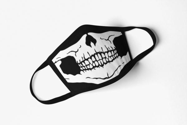 Skull 1 Black Face Mask