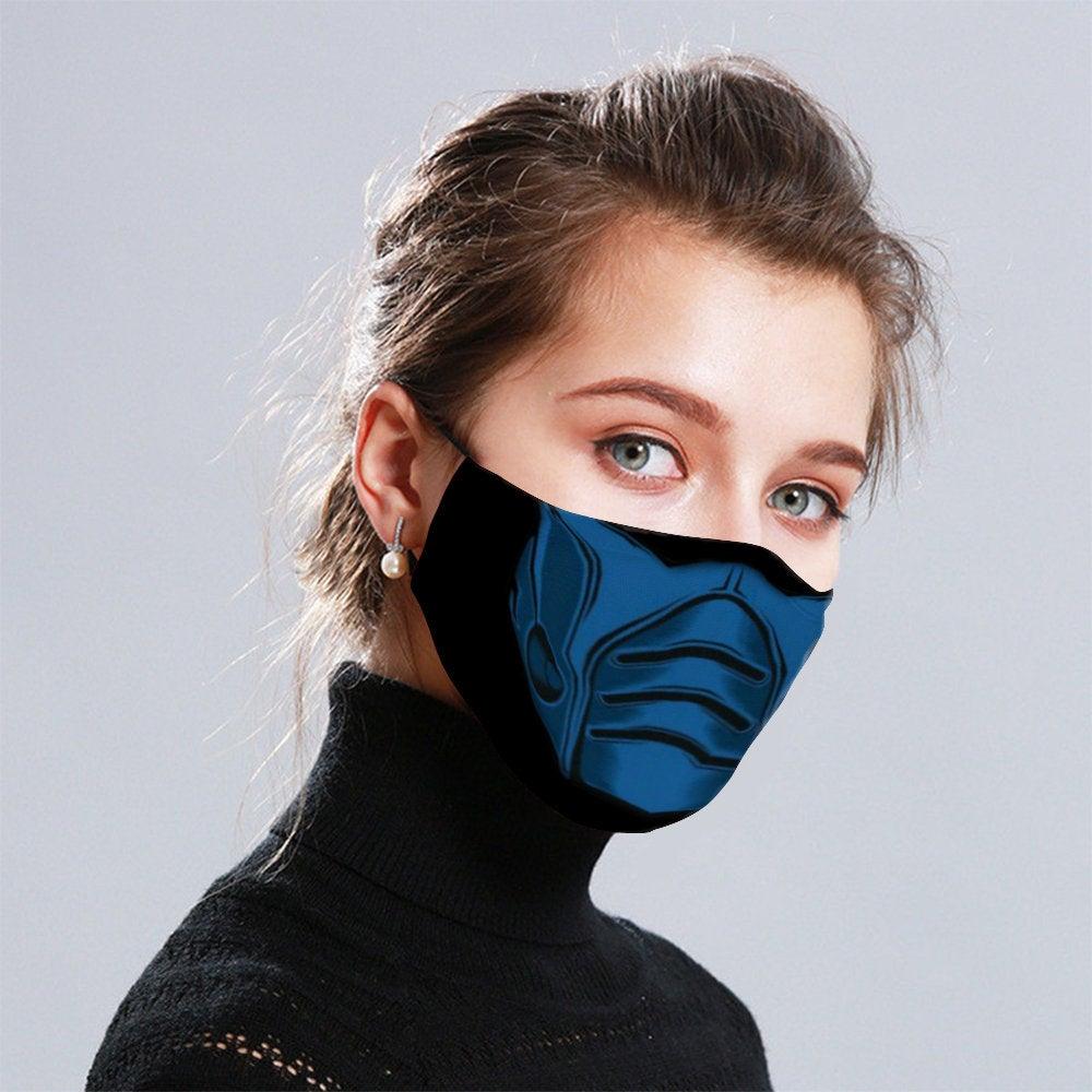 Sub Zero Mortal Kombat Ninja Warrior Face Mask