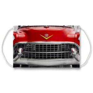 1955 Cadillac Bullet Grill Mask Red Face Mask Eldorado Sedan De Ville