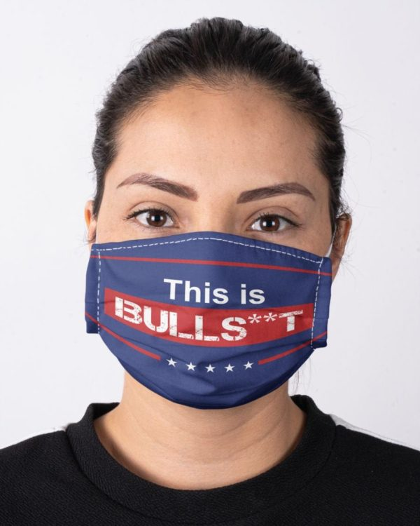 Donald Trump This Is Bull St Face Mask