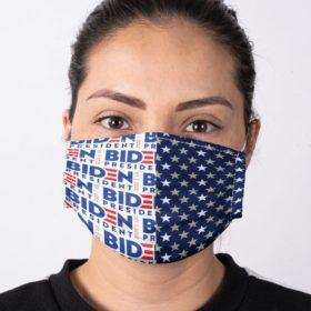 Presidential Election 2020 Support Joe Biden Face Mask