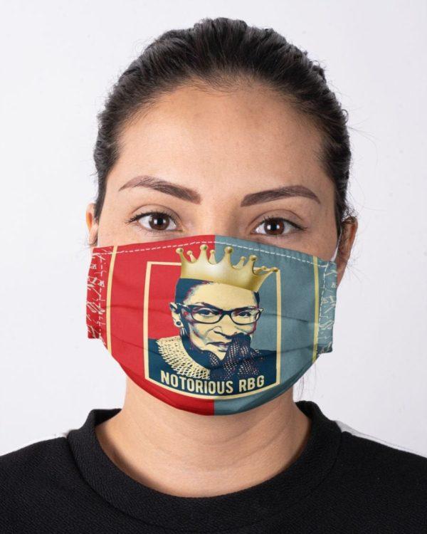 Ruth Bader Ginsburg RBG Notorious Feminism Equality Face Mask
