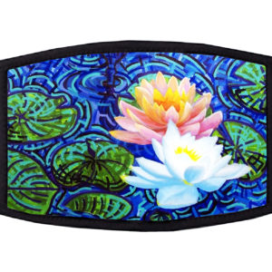 Water Lilly Van Gogh Face Mask
