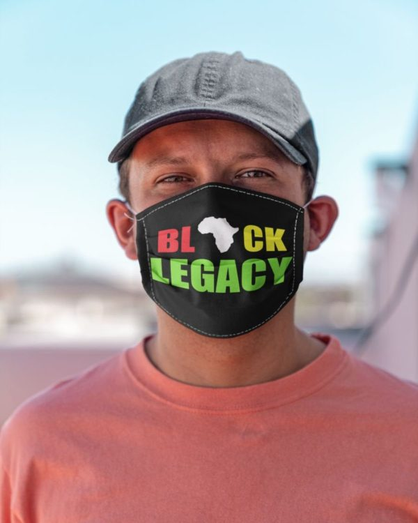 Black Legacy Melanin Black Pride Face Mask