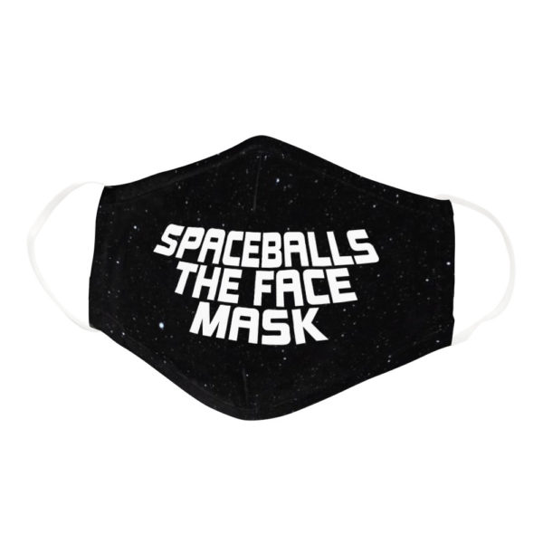 Spaceballs The Face Mask Funny Geek Nerd Gamer Face Mask