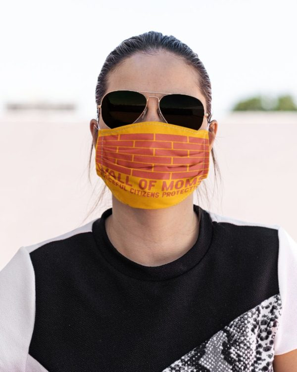 Wall of Moms Face Mask