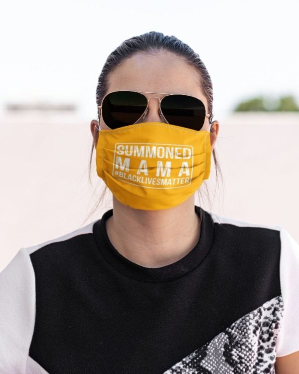 Wall of Moms Face Mask Black Lives Matter Summoned Mom Face Mask