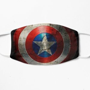 Captain American Face Mask